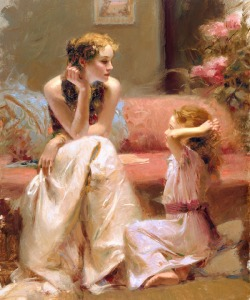 high-quality-oil-font-b-painting-b-font-canvas-pino-daeni-art-for-sale-thinking-of