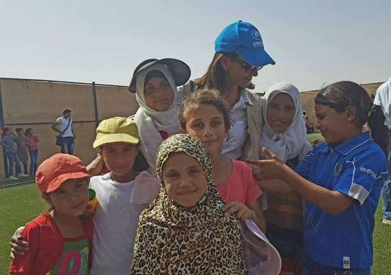 Zaatari girls