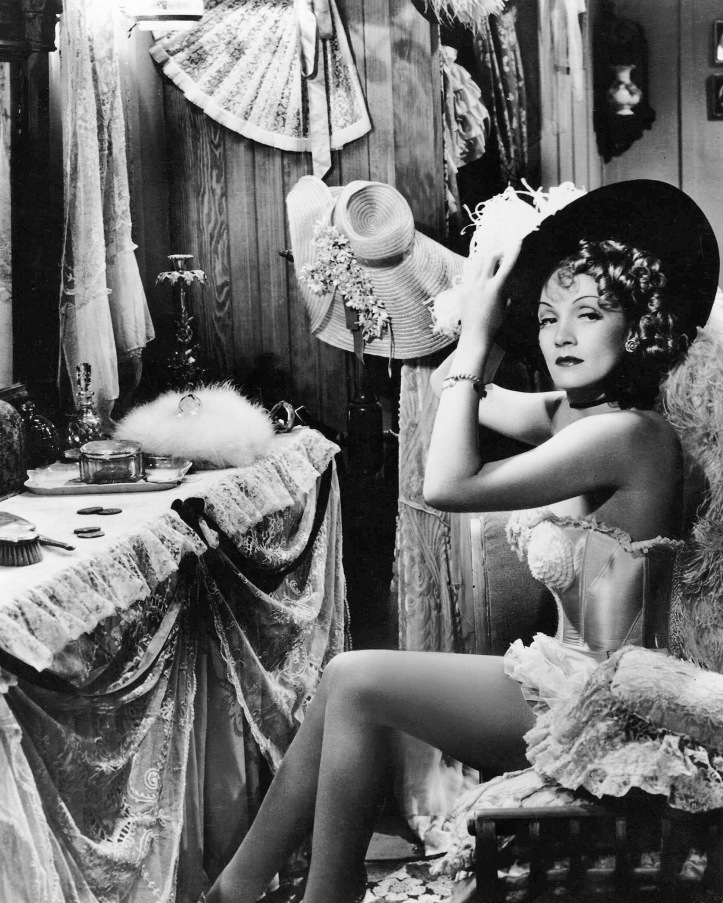 Marlene Dietrich in Destry Rides Again