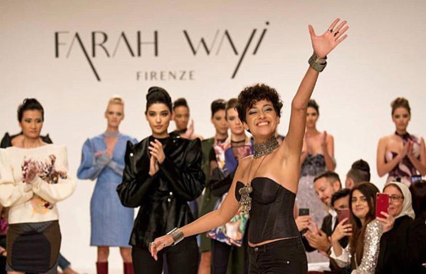 Fashion Designer Farah Wali Launches Her Brand At Fashion Forward Dubai Women Of Egypt Mag